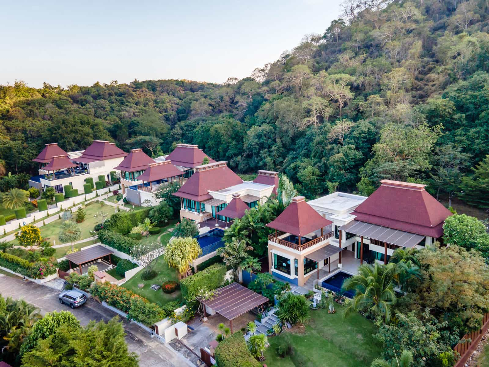 Exclusive Bali Sea View Villa at Hua Hin Panorama Resort