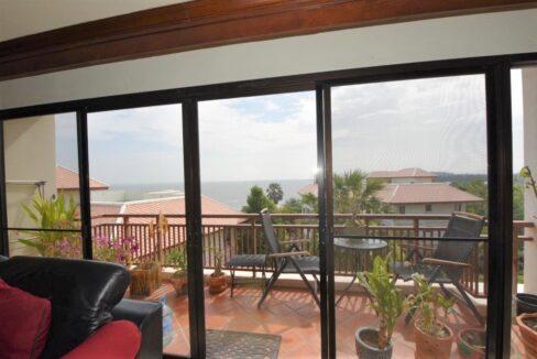 13 Living room exits to balcony