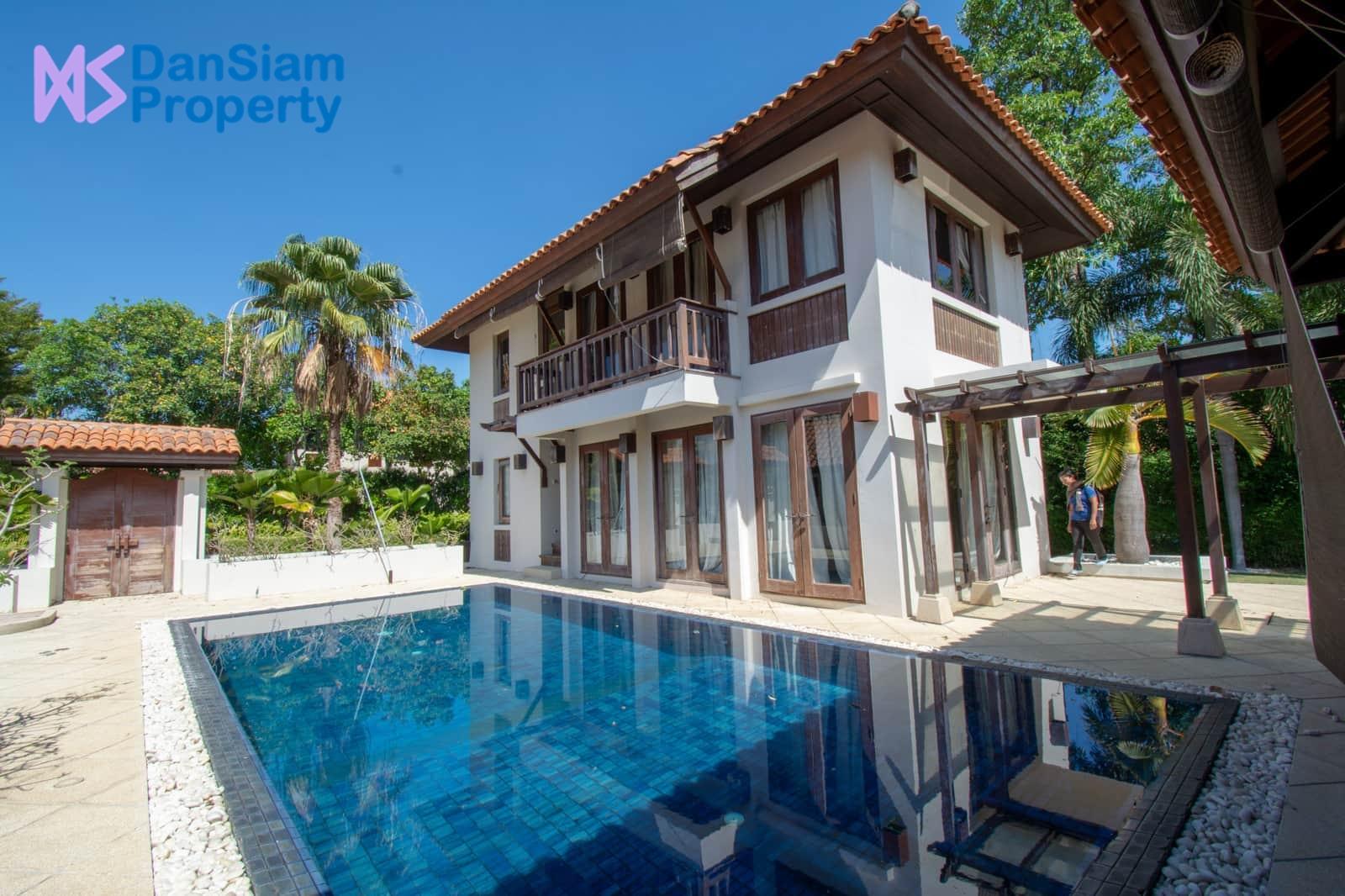 Bali-style Pool Villa in Hua Hin at Palm Hills Golf Resort