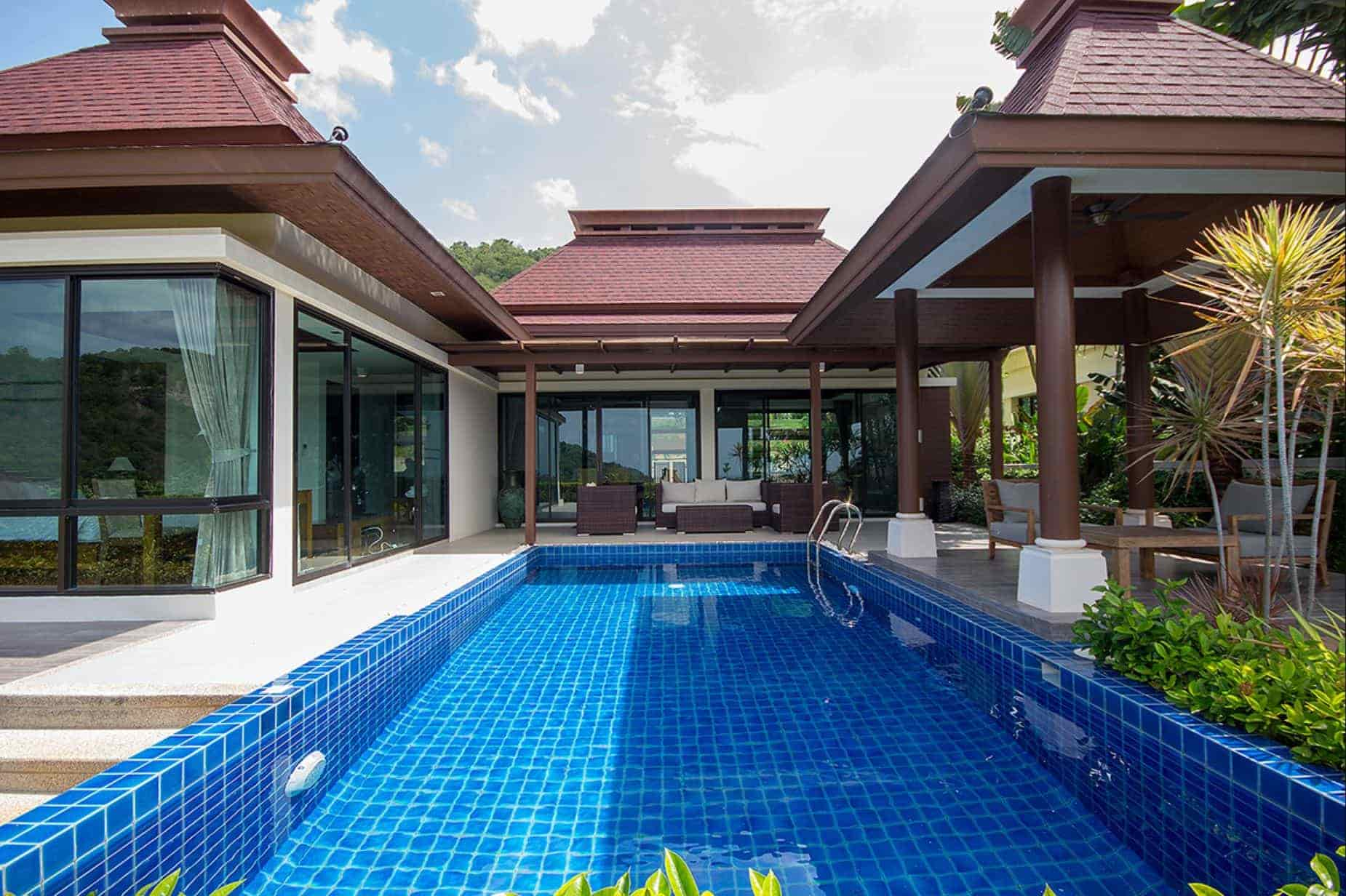 Well-designed Balinese Villa at Hua Hin Panorama Resort