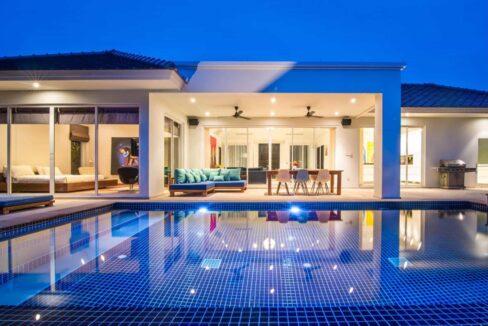 03A Luxury pool villa exterior