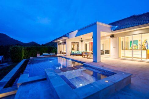 03B Luxury pool villa exterior