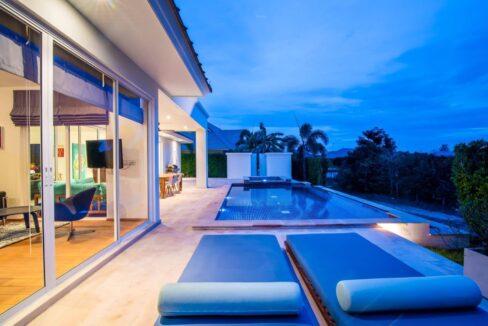 03E Luxury pool villa exterior