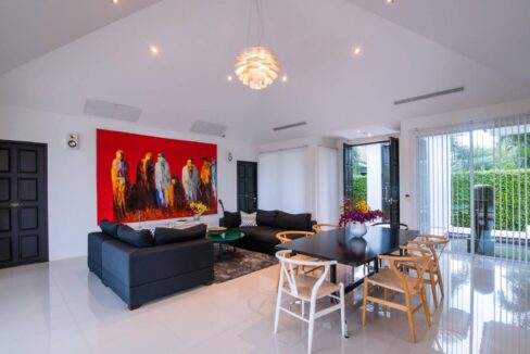 11 Luxury pool villa interior
