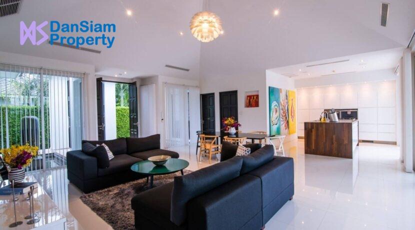 12 Luxury pool villa interior