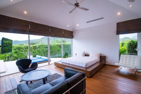 30 Luxury pool villa interior