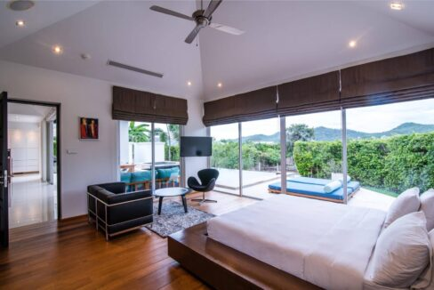 32 Luxury pool villa interior