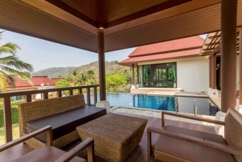 4D Great terrace-pool environment
