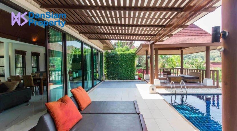 4E Great terrace-pool environment