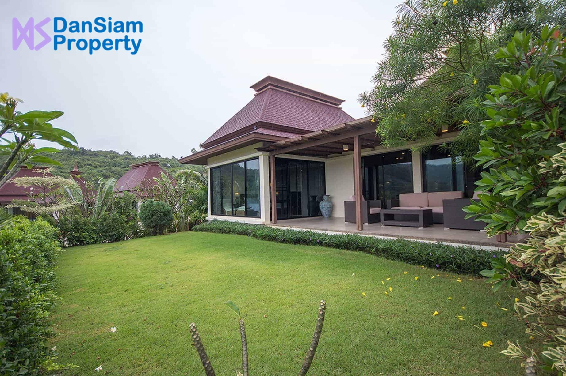 Beautiful Balinese Villa at Hua Hin Panorama Resort