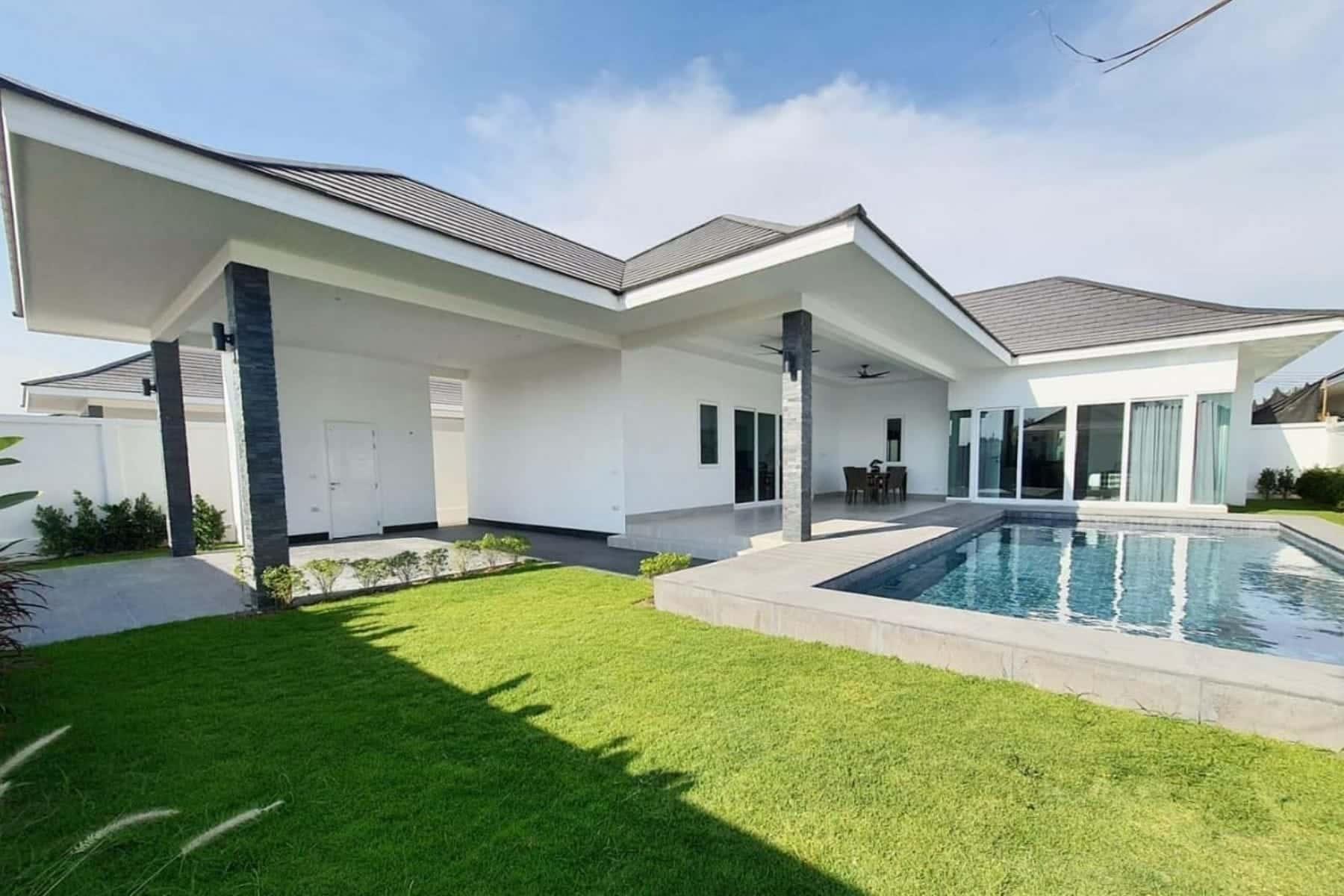 Luxury Pool Villa in Hua Hin at New Development(#43)