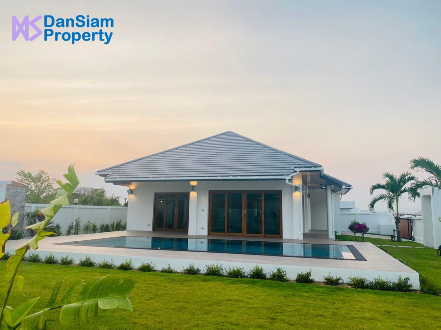 Balinese style Villa in Hua Hin at Hillside Hamlet8 (Off-plan)