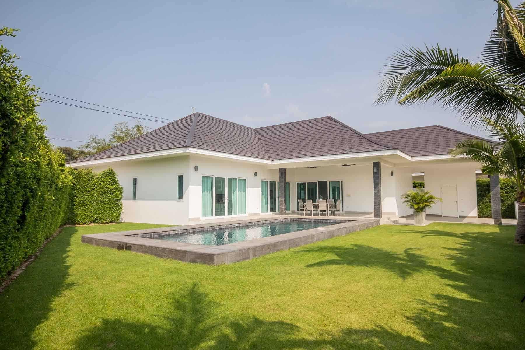 Luxury Pool Villa in Hua Hin at New Development(#01)