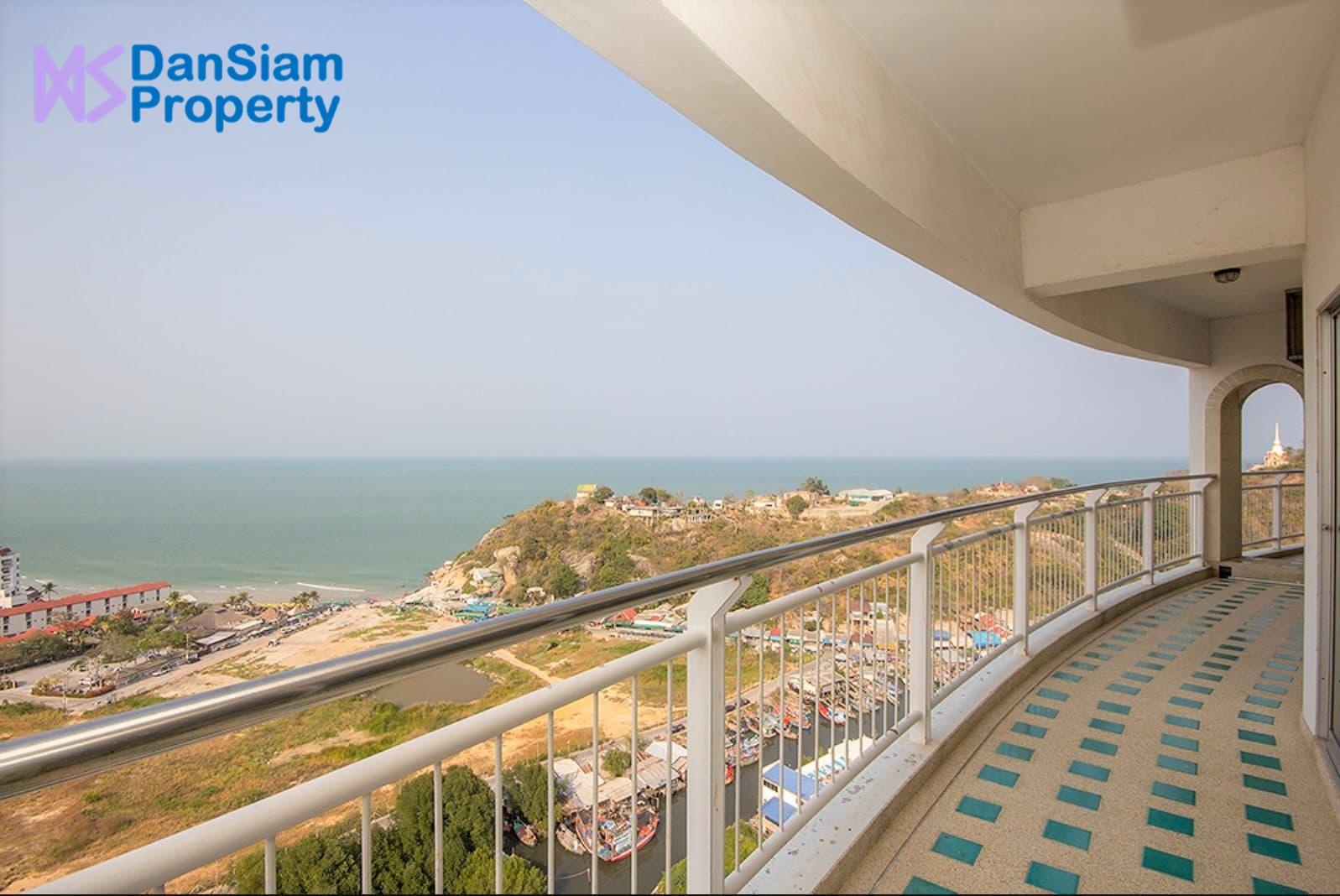 Beach Condo in Hua Hin with Stunning Sea&City View