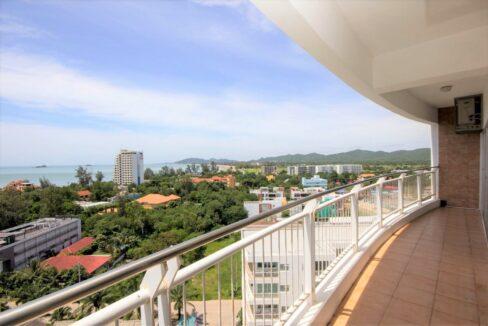 05 Condo wide balcony with great views
