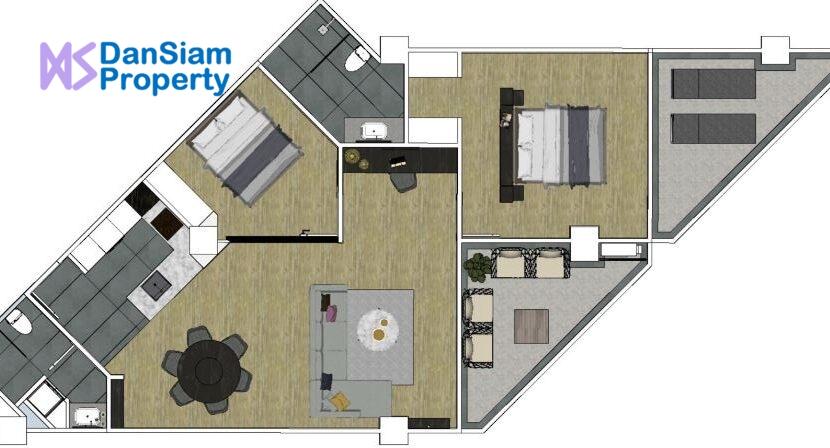71 PPH Condo#RP Floorplan
