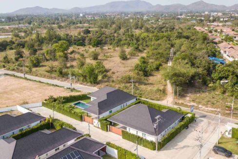 91B Villa Birdseye view