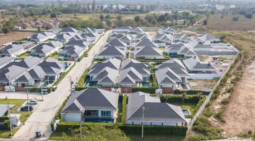 91D Villa Birdseye view