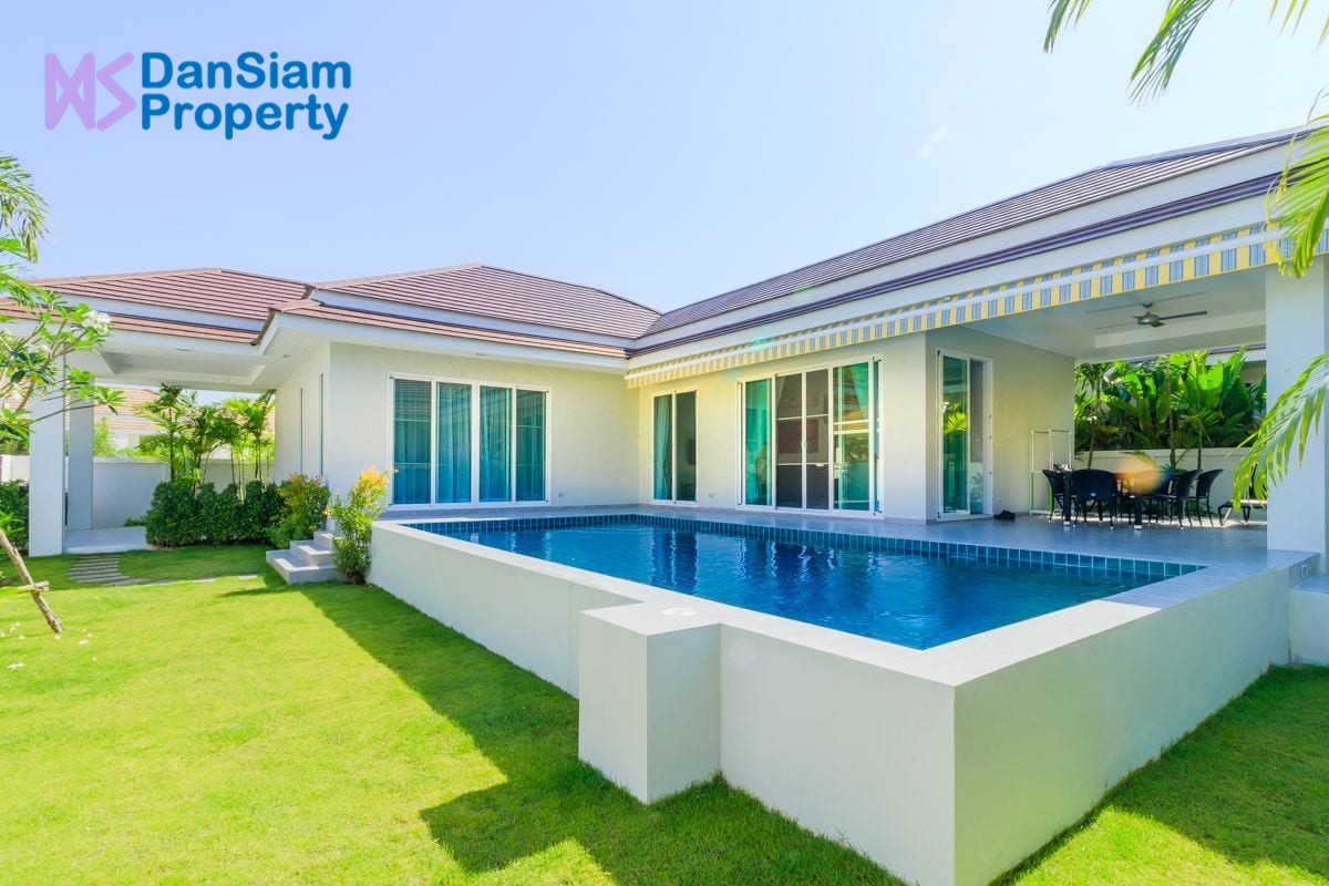 Luxury Pool Villa in Hua Hin at Woodlands Residences