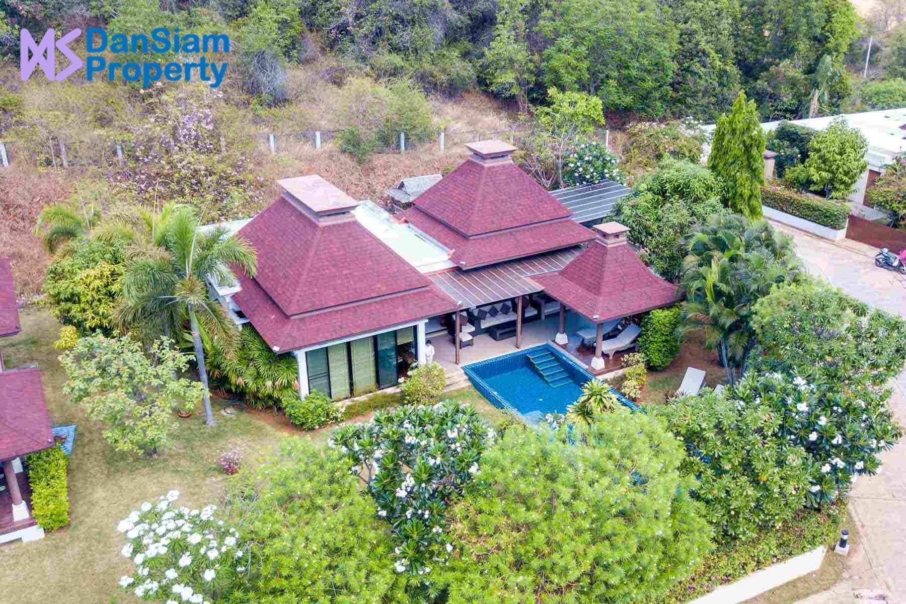 Quality 2-Bed Pool Villa in Hua Hin at Panorama Resort