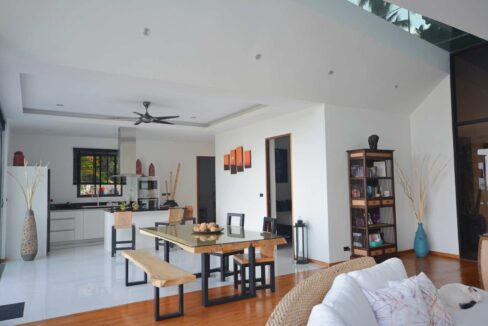 14 Spacious living-dining room