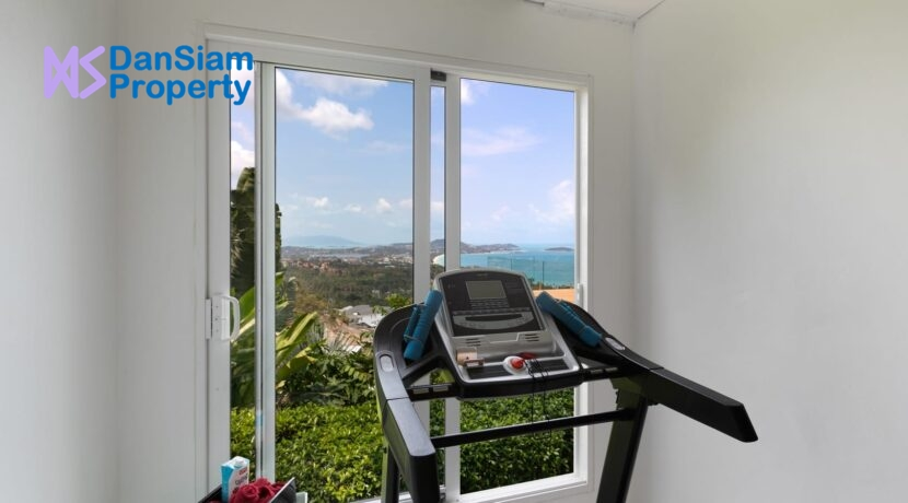 60 Private gym room