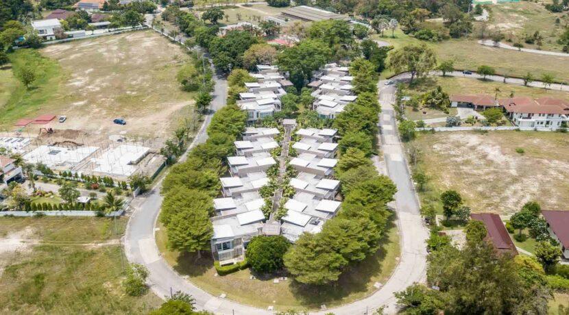 61 Palm Crescent Birdseye View