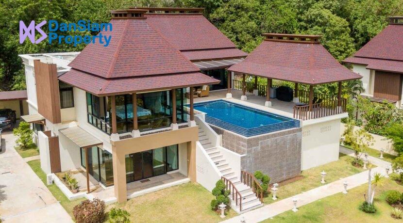 01B Exceptional Bali-style sea view villa