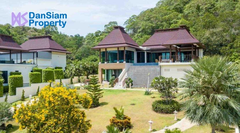 01C Exceptional Bali-style sea view villa
