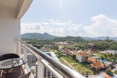 15 Condo wide balcony with stunning view