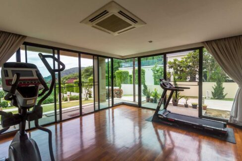 50 Bedroom#3 (Downstairs), Now Gym