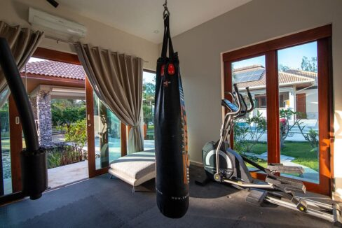 50 Gym room