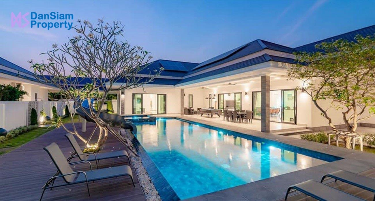 Exceptional Pool Villa in Hua Hin near Palm Hills Golf Resort