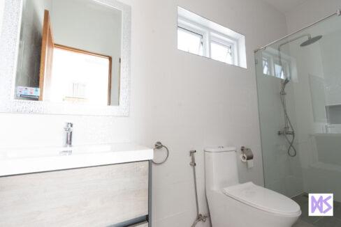 80 Bathroom#6 (next to outside kitchen)