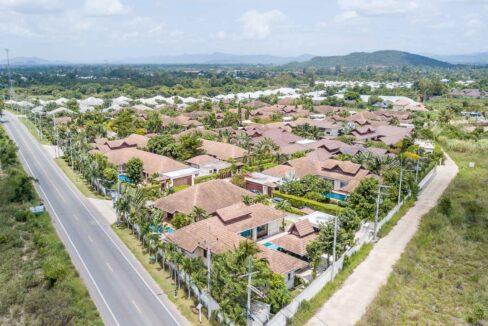 90 Villa birdseye view