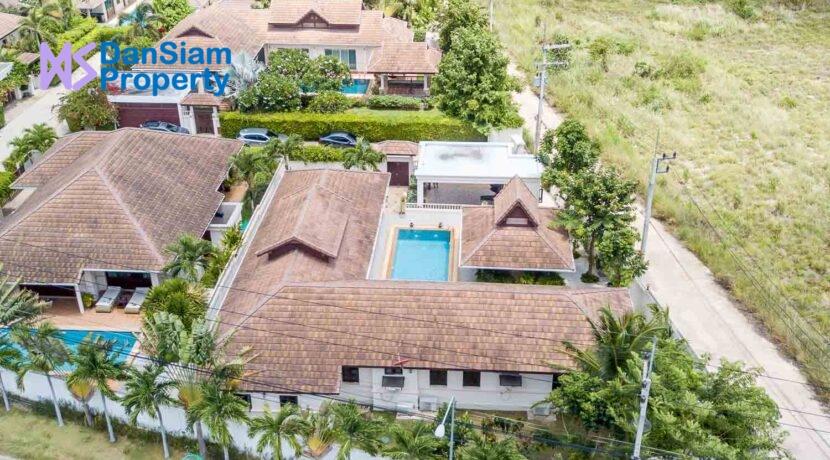 91 Villa birdseye view
