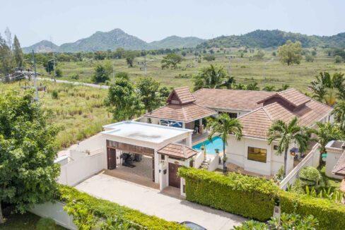 93 Villa birdseye view