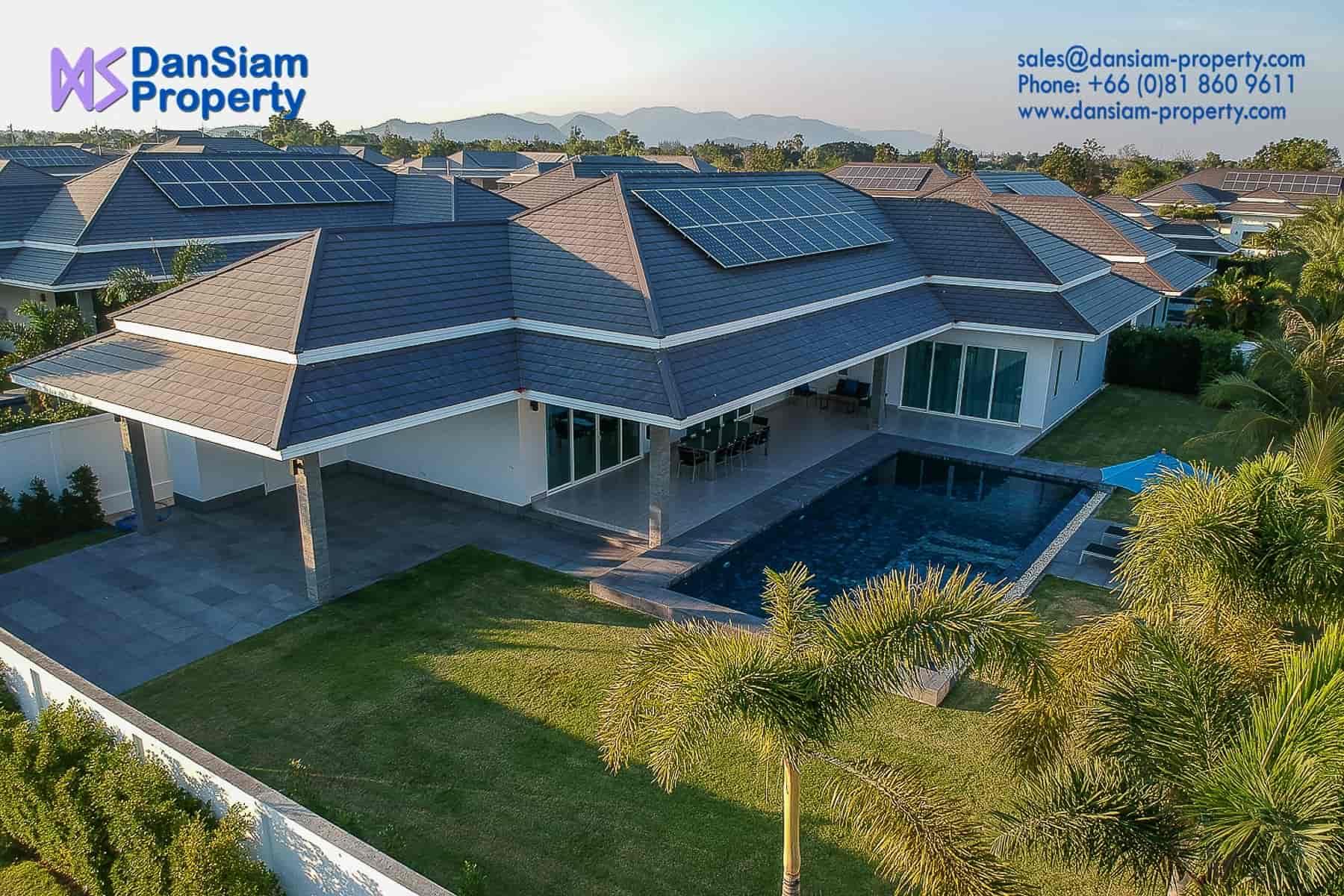 Luxury Villa in Hua Hin near Palm Hills Golf Resort