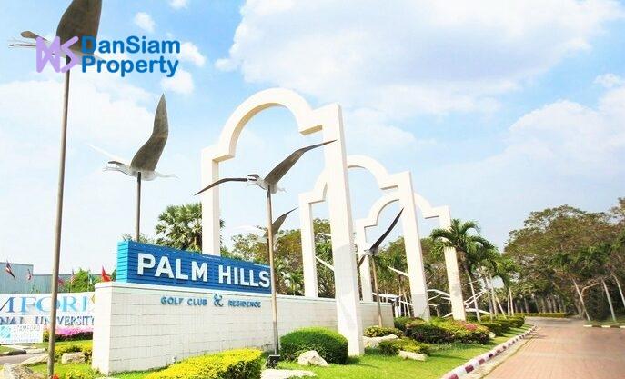 High Standard Modern Golf Villa in Hua Hin at Palm Hills Golf Resort