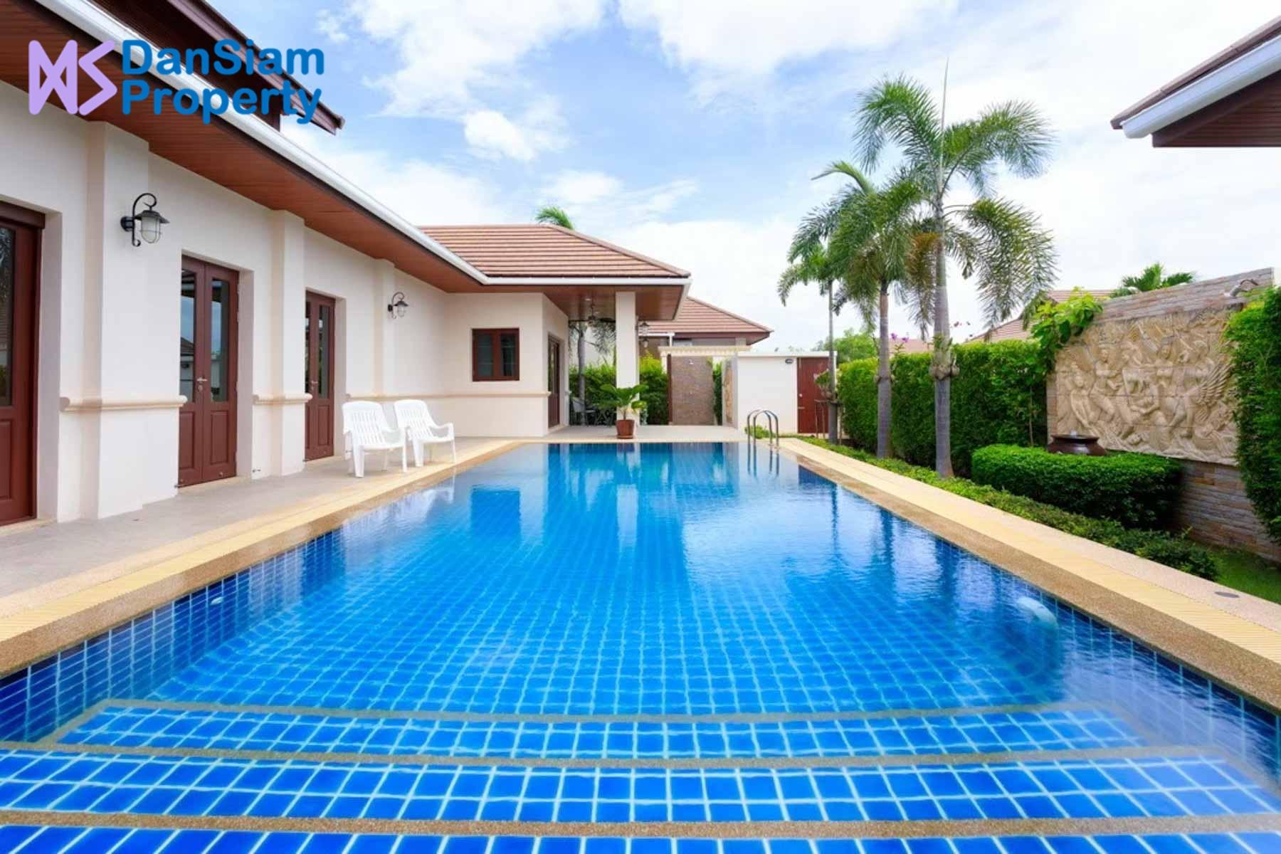 Balinese-style Pool Villa in Hua Hin at Hillside Hamlet5
