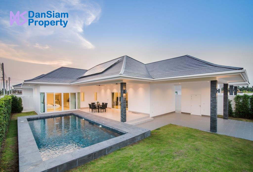 Luxury Pool Villa in Hua Hin at New Development (#56)