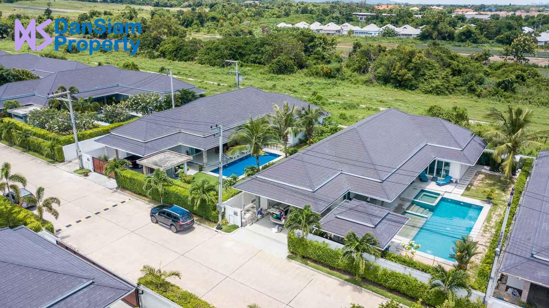 High Standard Pool Villa in Hua Hin near Palm Hills Golf Resort