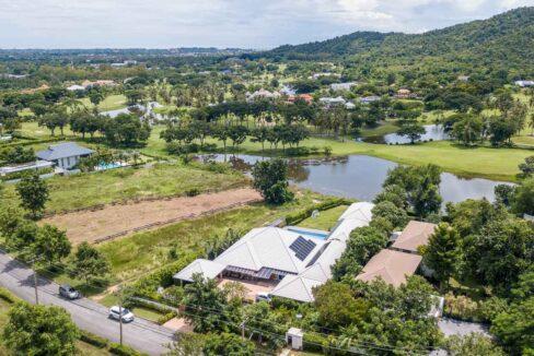 01B Palm Hills House Birdseye view
