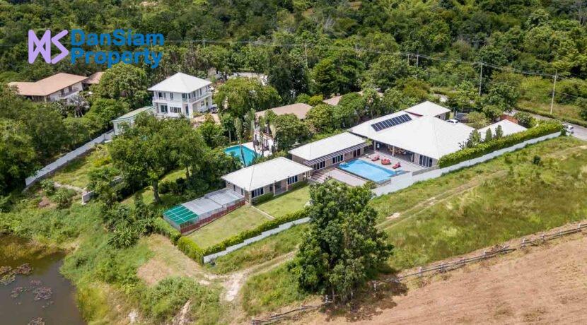 01C Palm Hills House Birdseye view