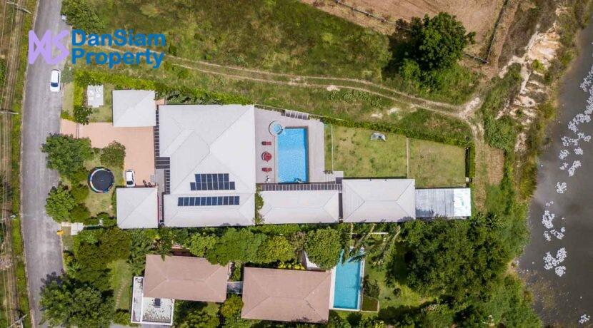 01D Palm Hills House Birdseye view