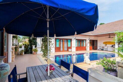 03 Hillside Hamlet Bali style pool villa