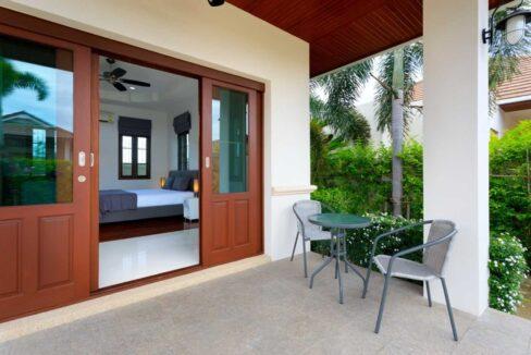 42 Bedroom exit to terrace