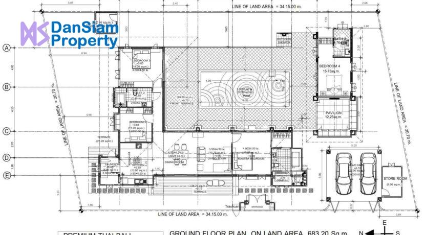 80 HHH3 House#NN Floorplan