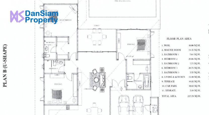 92 AHH House Type-B (U-Shape)