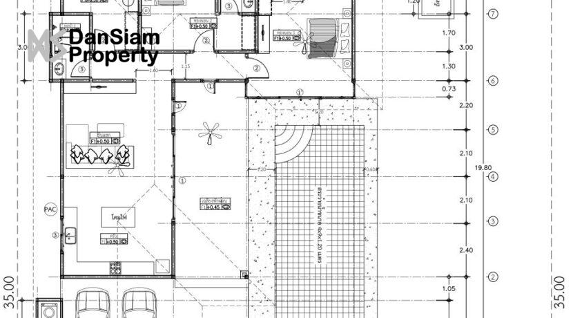 93 AHH House#55 Floorplan (Standard L-Shape)